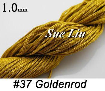 Quality! 1mm 140m/150yds Black Chinese Knot Beading 100% Nylon Cord NCN10 -5pcsx30yds