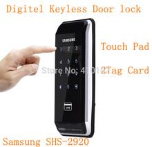 Samsung Ezon SHS-2920 Digital Keyless Electronic Keypad Deadbolt Door Lock(China (Mainland))