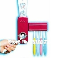 toothpaste automatic dispenser,brush holder set,family set,bathroom use, high quality and top rated hot, free shipping