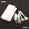 10 pcs/set makeup brush high quality Goat hair professional makeup Free Shipping