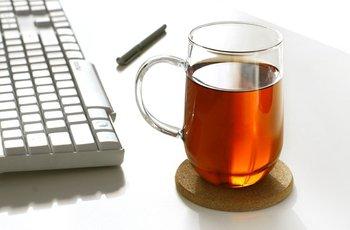 Glass Mug 400ML for Tea,Coffee or Ice Cream+Cup Mat +Free Shipping