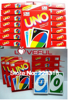 New Free Shipping UNO Card Game Playing Card Family Fun Updated Version ---Friend's Funny 2014 Now
