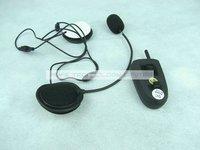 electronic 2014 new BT bluetooth interphone intercom Motorcycle Helmet Headsets FM 100 Meters Handsfree Kit free shipping