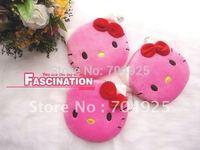 6PCS Kawaii Hello Kitty Plush Coin Purse & Wallet Pouch Bag Case BAG Pendant Chain Purse Bag Case Pouch BAG Wallet Handbag Case