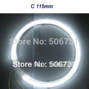 CCFL angel eyes Full circle full circle rings C 72mm/76mm/80mm/85mm/90mm/97mm/100mm/106mm/115mm/127mm  1SET   FREE SHIPPING !