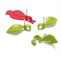 Alibaba express leaf and bird shape Wire Clip convenient wire manager cable organizer-10pcs