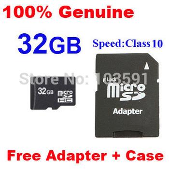 FREE shipping Full 32GB micro sd card class 10 TF memory card with 32 gb MicroSD Flash