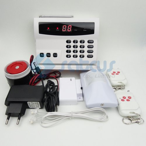 32 Zones LED Wireless Home Security Alarm Systems Kit Auto Dial PSTN Burglar Intruder Alarm Systems(China (Mainland))