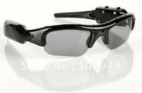 Free shipping mini dvr sun glasses video camera dv 6817, hidden popular dvr
