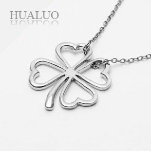 Factory Outlets,Wholesale- Korean Version Of The Four-Leaf Clover Necklace N161