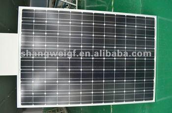250W 48V mono PV module  solar panel for solar power system