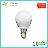 hot sale free shipping 10pcs/lot 3w 250lm warm white P45 E14 LED light bulb