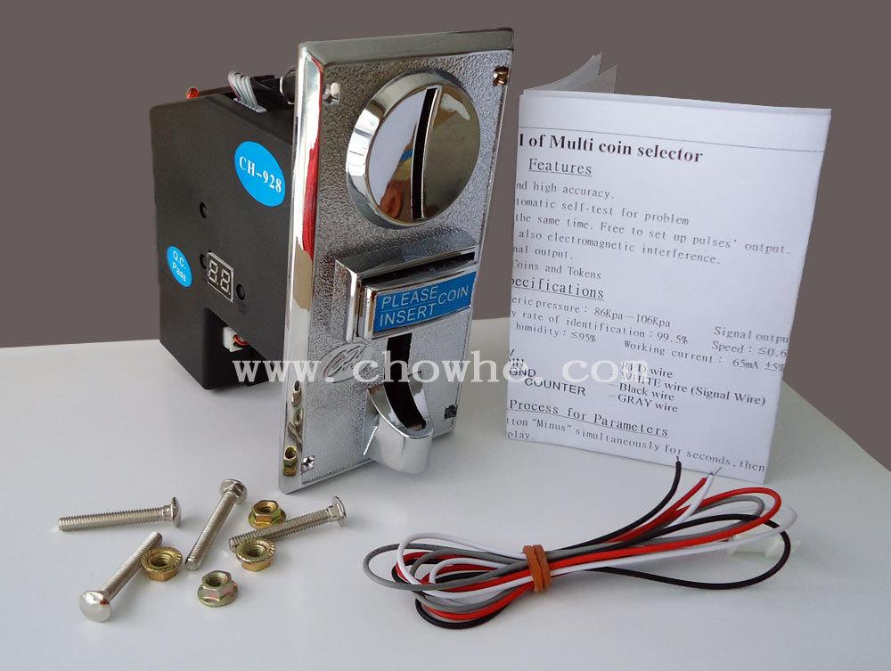 Coin Selector Usb Ch-925 Multi Coin Selector