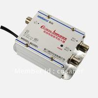 Seebest Cable TV Signal Amplifier Splitter Booster CATV amplifier 2 Output 20DB SB-8620D2