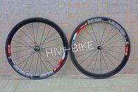 wholesale, DT swiss Two carbon Wheelset  T-50 tubular 3K weave wheels 50mm