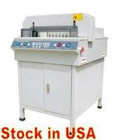 Digital paper cutter 17.7'', electric automatic paper cutter guillotine, paper cutting machine. Ship from USA warehouse