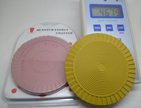 New High Ion Bio Energy Silicone Mat energy cup coaster bio chi disc