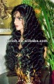 "Stock!!! New 24"" wave style 150% heavy density coustomer special order fashion India remy human hair lace front wig"