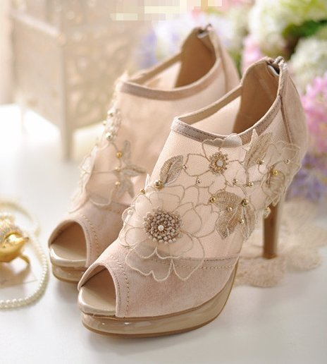 Free Shipping Genuine Leather Fashion Buckle Sandals Sexy Platform Gladiator High Heels Shoes EUR Size(35--39) 4011 Pixie Store(China (Mainland))