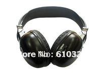 Stereo Dual Channel Car IR Wireless Headphone Earphone Headset Retail 2pcs/Lot Free Shipping