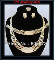 High Quality18KGP Gold Plated Fashion African Style Gold Jewelry Sets Fashion Bridesmaids Jewelry