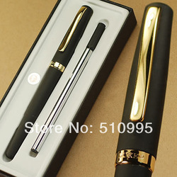 Duke 209 gold and black international standard refill roller ball pen(China (Mainland))