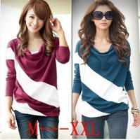 Women T-shirts spring new arrive 2015 summer saias femininas maxi fashion plus size work wear clothing short cotton t-shirt 8627