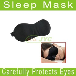 Free Shipping Black Eye Sleep Mask Sleeping shade, Aid Travel Rest(China (Mainland))