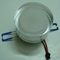 3/6w Good quality LED downlight AC 85-265 V  80lm/w free shipping Acryl shape