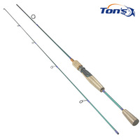 Trout Spin SV 602UL Soft Cork Ultra Light Spinning Fishing Rods 180cm Free Shipping via EMS