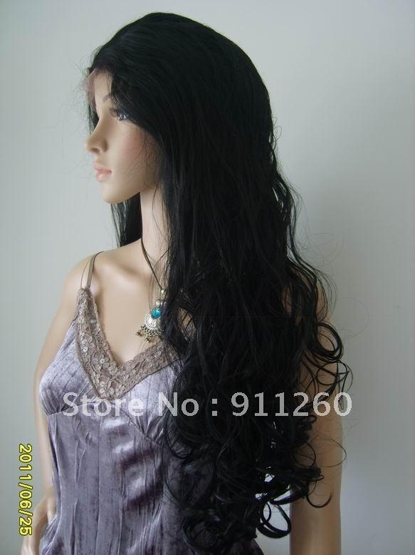 Парик из искусственных волос Fantasy Luxury 1B , 18 & 20 #1 /#1B /#2 /#4 FLSYN009 dh 100% 100 1 18 28 1b 1 1b