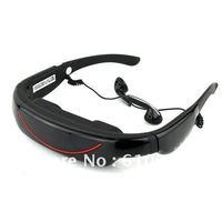 "Portable Eyewear 72"" 16:9 Widescreen Multimedia Player Portable Video Glasses Virtual Theatre 4GB"