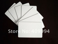 Free Shipping 200pcs/Lot 13.56MHz MFS50 Rfid NFC Card Rewritable White Card PVC Card