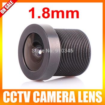 CCTV 1.8mm Security Lens 170 Degree Wide Angle CCTV IR Board CCTV Lens Camera