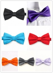 NEW Arrival Mens Imitation Silk Tuxedo Adjustable Neck Bowtie Bow Tie Free Shipping 5163(China (Mainland))