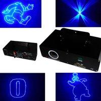 New China dj equipment 500mW Blue  Animation ILDA DMX DJ  laser light party light - Free shipping