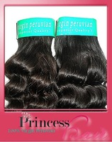 100% peruvian virgin  hair curly wave human hair  unprocess hair 12''-30'' Free shipping