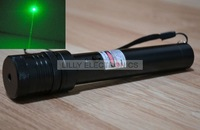 Powerful 50mw 532nm Focusable Green Laser Pointer Torch w/ Safety key 532T-50-GD-R300