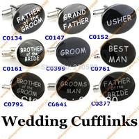 Fashion Jewelry Wedding Cufflinks For Men Designer Cufflink Best Man Groom French Shirt Accessories Cuff links