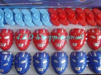 Envío gratis Spider man trompo con luz y música, LED parpadeante Beyblade juguete clásico / regalos para los niños