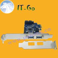 Supper speed 5 Gbps 2 Ports external USB 3.0 and 1 port internal 19Pin USB header PCIe Card ,PCI express card