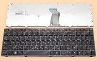 NEW RU Russian keyboard For lenovo B590 keyboard For lenovo B570 keyboard V570 Z570 Z575 B570A B570G B575 B575A B580 Black Frame