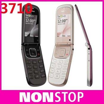 3710 Original Nokia 3710F Unlock Cell Phones Bluetooth FM JAVA Free shipping