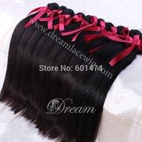 "3pcs/lot Cheap Grade 6A  Unprocessed Brazilian Virgin Human Hair Extensions 8""-26"" Free Shipping"