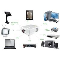 3d 1080p brand new 2200 lumen home cinema projector(projektor,beamer,projecteur,proyector,proiektorea)  with USB HDMI input