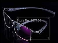 HOT POP: TR-90 glasses frame, Prescription eyeglasses frame,Semi- Rimless Eye Glasses  like  Black/Gold/Silver/coffee