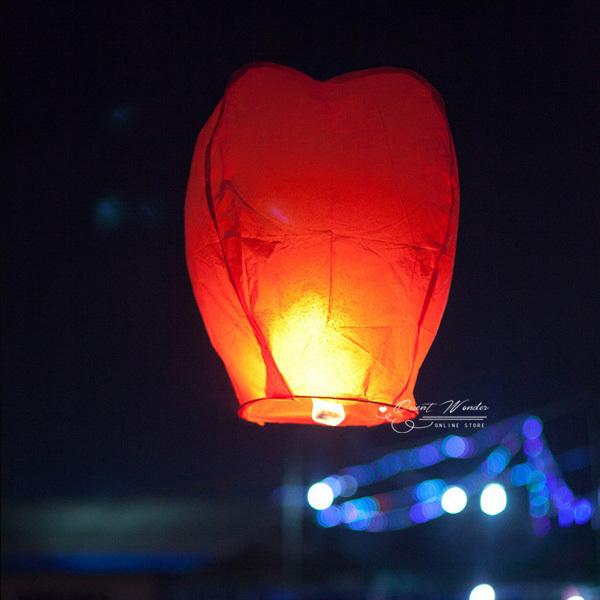 (6 PCS)SKY Kongming Balloons wishing Lanterns,Flying Light Halloween Lights,Chinese sky Lantern Freeshi