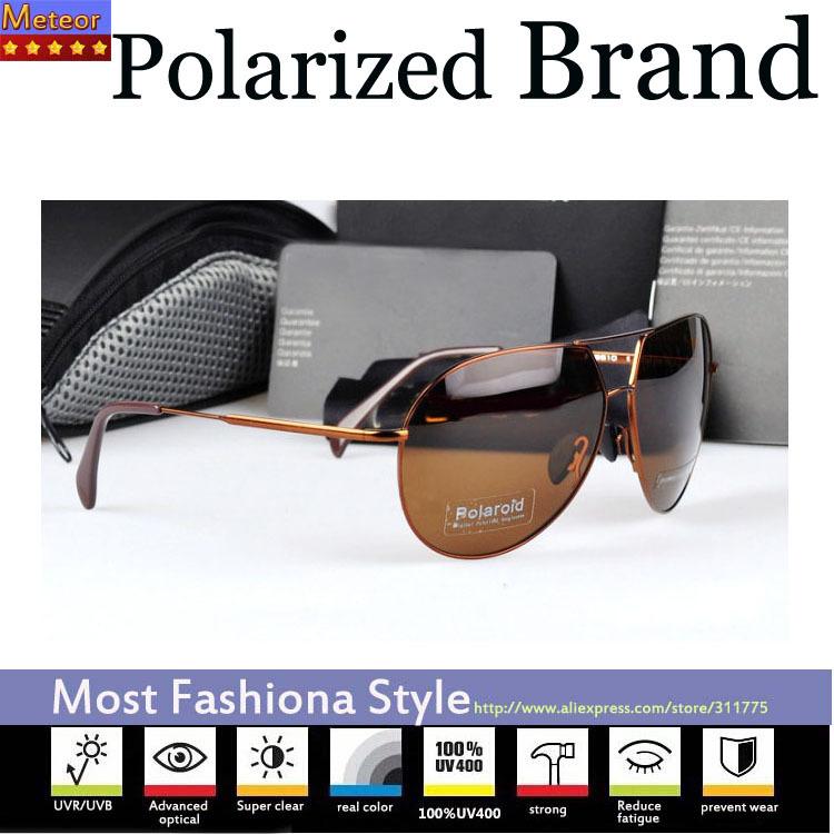 Impact resistant Blue Film Pc Lens Oculos UV400,Stainless Steel Frame Aviator Fishing Mens Sunglasses Polarized Brand Driving(China (Mainland))