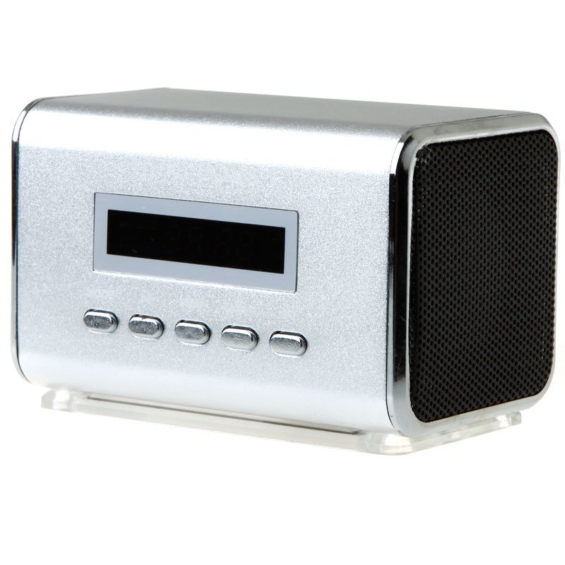 Portalbe Mini Speaker Micro SD TF Card USB Disk with FM Radio V369 Free Shipping Dropshipping Wholesale