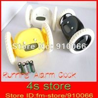 Hot ! running alarm magic LCD clock, will run away and ring to get you out of bed, Modren and Fashion  BF1818